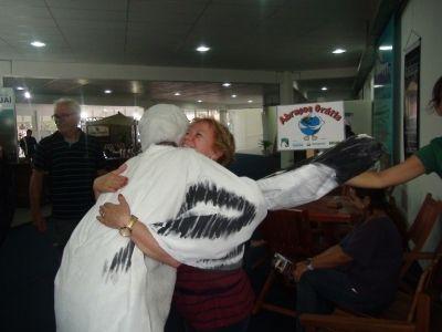 Abraços Grátis no asilo Dom Bosco