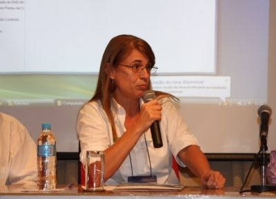 Tatiana Neves, Coordenadora Geral do Projeto Albatroz durante I Ciclo de Debates...