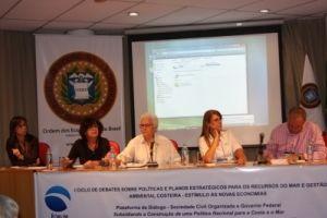 I Ciclo de Debates sobre Políticas e Planos Estratégicos para os Recursos do Mar e Gestão Ambiental Costeira