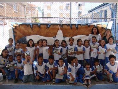 Alunos da escola Barão do Rio Branco