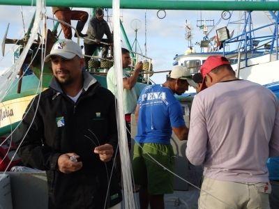 Dimas Gianuca se prepara para embarque