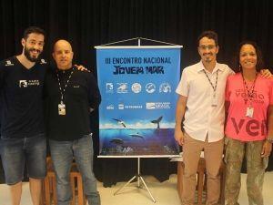 Equipe do Sesc Betioga, apoiador do evento