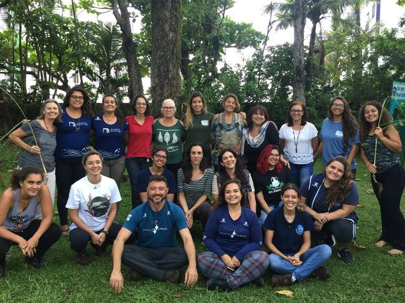 Foto Noti?cias_Projeto Albatroz contribui com as redes de educa??o ambiental REABS e a REPEA