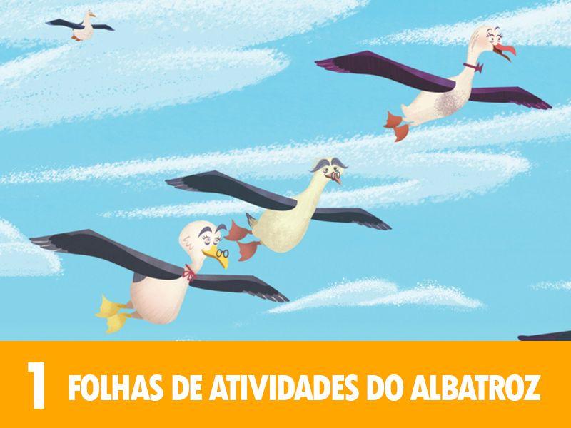 FOLHAS DE ATIVIDADES DO ALBATROZ - 1