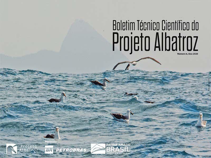 6ª edição do Boletim Técnico Científico apresenta novas pesquisas do Projeto Albatroz