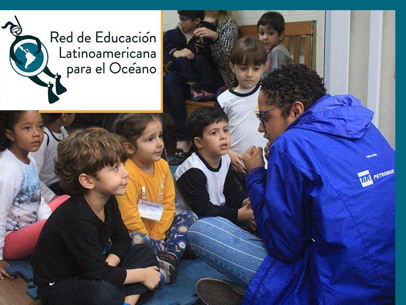Rede de Educação Latinoamericana para o Oceano é a mais nova aliada do trabalho de Educação Ambiental do Projeto Albatroz