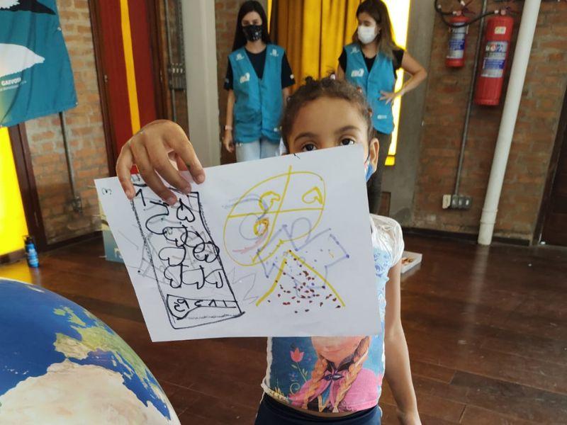 Projeto Albatroz leva atividades de educação ambiental para a Semana da Primavera do Instituto Arte no Dique