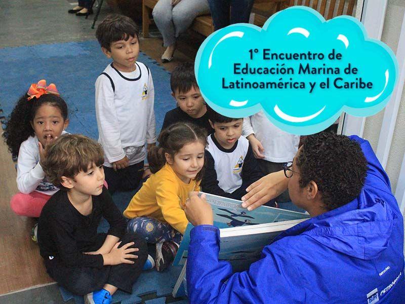 Projeto Albatroz apresenta trabalhos no 1º Encontro de Educação Marinha da América Latina e Caribe